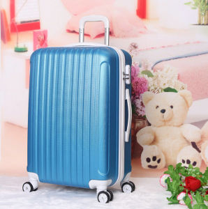 Fashion ABS Travel Trolley Trolley Luggage Bags pictures & photos