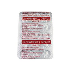 Chloramphenicol Capsule 250mg GMP Medicine pictures & photos