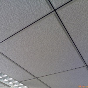 605*605mm Green Fissured Ceiling Suspending Mineral pictures & photos