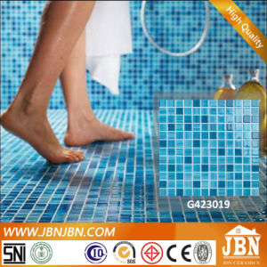 Cheap Price Blue Color Glass Mosaic for Swimming Pool (G423001) pictures & photos