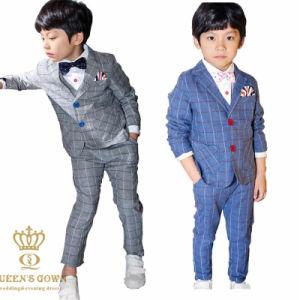 2015 New Wedding Flower Boy Suit Stripe Type pictures & photos