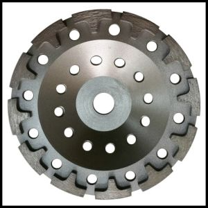 22.23mm Cup Grinding Wheel Disc with, M14, 5/8-11 Center Bore pictures & photos