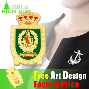 Factory Custom Embossed Logo Metal Commemorative Coin/Badge pictures & photos