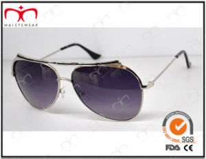 Fashionable Hot Selling UV400 Protection Metal Sunglasses (KM15011) pictures & photos