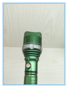 Multifunction Bright Portable Green Rechargeable Torch Light pictures & photos