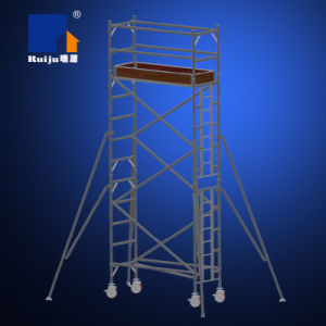Single Width Scaffolding with Vertical Ladder 4.2m pictures & photos