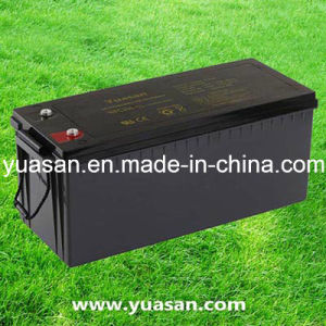 Professional Maintenance Free 12V200ah VRLA Solar Deep Cycle Battery--Npc200-12