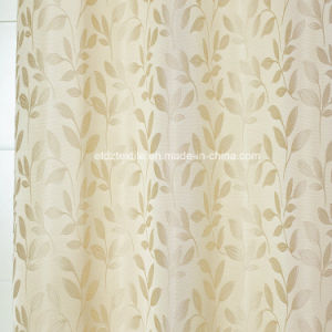 Modern Small Leaf Flower Pattern of Curtain pictures & photos