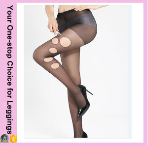 2016 Hot Sale Women Ultrathin Pantyhose Stretchable Silk Stockings pictures & photos