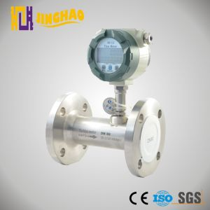 4-20mA Good Quality Intelligent Turbine Flow Meter for Gas (JH-LWQ) pictures & photos