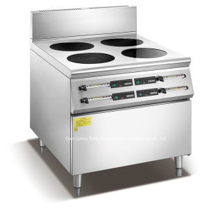 Counter Induction Cooker Burner Range (4 burners) pictures & photos