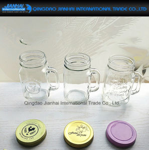 350ml Clear Glass Mason Cup for Summer Ice Tea pictures & photos