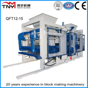 Concrete Block Making Machine/Automatic Block Production Line (QT9-15) pictures & photos