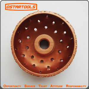 Domed Contour Rasp, Carbide Tire Grinding Disc pictures & photos