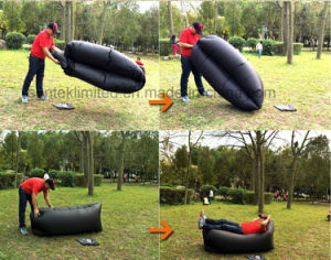 Inflatable Outdoor Air Sleep Sofa Couch Portable Furniture pictures & photos