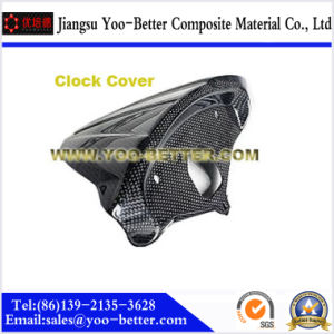 Carbon Fiber Motorcycle Parts for Clock Cover