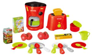 Kids Food Play Set Battery Operated Kitchen Toy (H0009378) pictures & photos