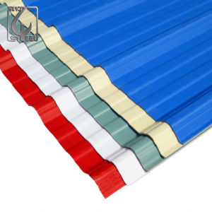 PPGI Prepainted Colorful Corrugated Roofing Sheet for Build Sector pictures & photos