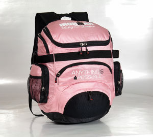 Pink Travel Hiking Backpack for Women (DSC00099) pictures & photos
