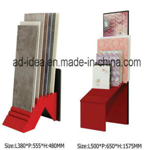 Classical Red Exhibition Stand for Tile Display pictures & photos
