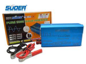 Suoer Pure Sine Wave Inverter 300W Inverter 12V to 220V (FPC-300A) pictures & photos