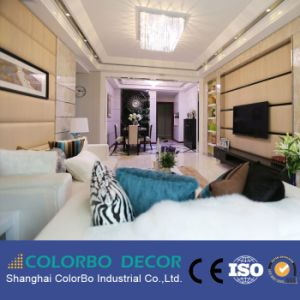 Fireproof Interior Wall Fabric Acoustic Panel for Hotel pictures & photos