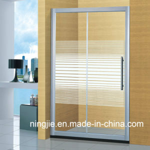 Simple Temper Glass Customade Shower Screen (A-899) pictures & photos