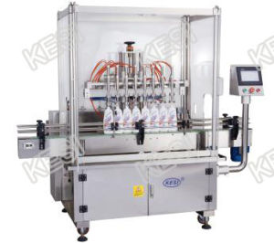 Automatic Bottle Liquid Filling Machine, Shampoo Filler, Detergent Filler pictures & photos