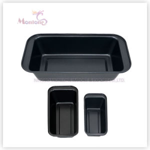FDA Bakeware Carbon Steel Non-Stick Microwave Baking Pan (25*13*6cm) pictures & photos