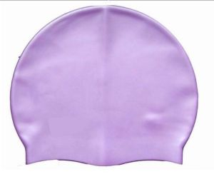 Custom Printing Silicone Swimming Cap/Latex/Lycra/Polyester Swimming Cap pictures & photos