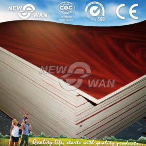 Wood Grain Melamine Particle Board 1220X2440 pictures & photos