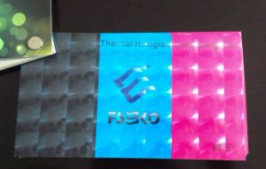 3D Thermal Hologram Laminating Film 38mic pictures & photos