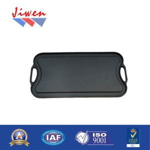 Factory Wholesale Food Safety Cast Aluminum Grill Pan pictures & photos