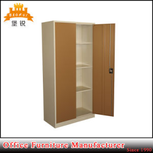Jas-006 Steel Two Swing Door Galvanized Rust Resistant Metal Clothes Wardrobe pictures & photos