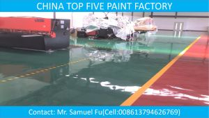 Maydos Liquid Coating State and Trowel-Spatula Application Method Epoxy Floor Coating pictures & photos