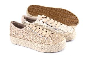 2016 New Women Jutefoxing Shoes/Lady Flatshoes/ Espadrilles (SNC-280032) pictures & photos