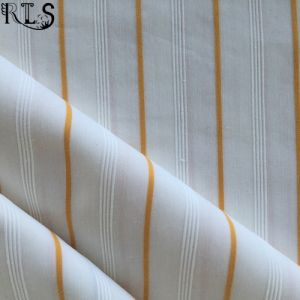 Spandex/Cotton Jacquard Woven Yarn Dyed Fabric for Shirts/Dress Rls40-31sp
