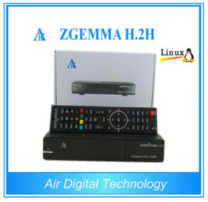 Original Zgemma H. 2h Enigma2 Linux Combo Receiver 1X Satellite DVB-S/S2 + Hybrid DVB-C/T/T2 pictures & photos