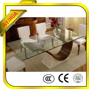 6mm 10mm Wholesale Tempered Glass Dining Table Price pictures & photos