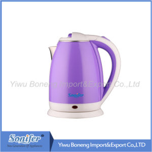 1.8 L Colourful Electric Kettle Hotel Water Kettle Stainless Steel Kettle Sf-2007 (Green) pictures & photos