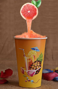 OEM High Quality Juice Glass / Factory Printed Promotional Paper Cup pictures & photos