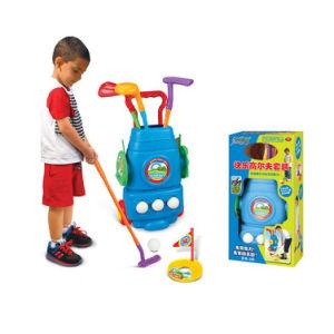 Plastic Kid Golf Paly Set Kids Indoor Golf Sets