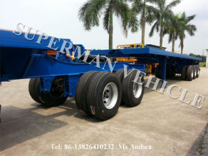 2 Axles Container Super Link Semi-Trailer pictures & photos