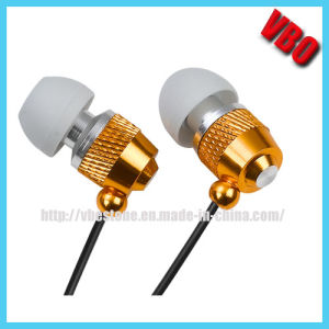 Milkly White Metal in-Ear Earphone Headset with Deep Bass pictures & photos