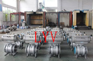 High Pressure Cast Trunnion Ball Valve pictures & photos