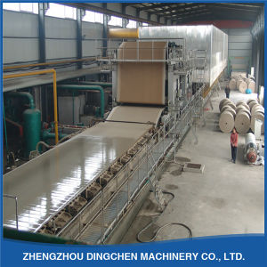 Dingchen Machinery Manufacturers Fourdrinier Automatic Kraft Paper Making Machine 1600mm pictures & photos