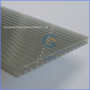 Building Materials Polycarbonate Twin Wall Sheets Greenhouse with UV Protection pictures & photos