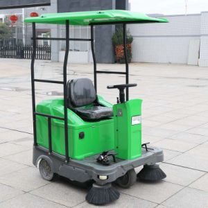 Multifunctional Industrial Electric Ride on Street Sweeper (DQS12A) pictures & photos