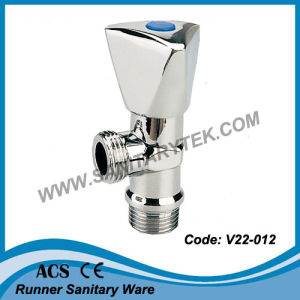 Chromed Brass Angle Valve (V22-012) pictures & photos