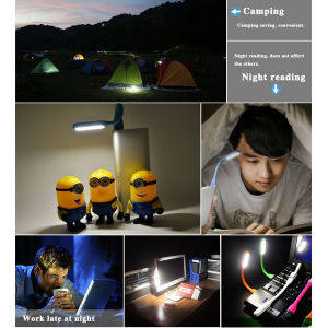Flexible USB LED Lamp Portable Xiaomi USB LED Reading Lights pictures & photos